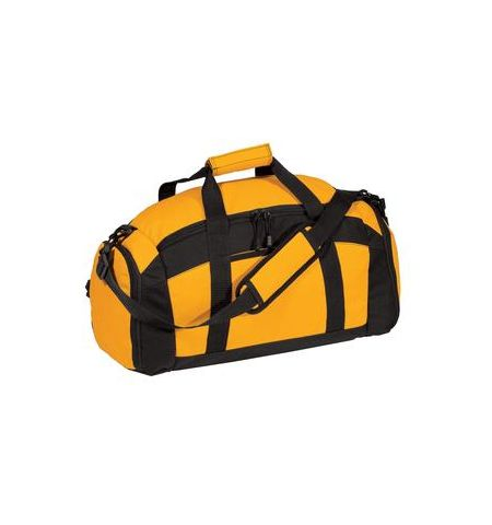 PORT AUTHORITY MID-SIZE TWO TONE GYM BAG - BG970