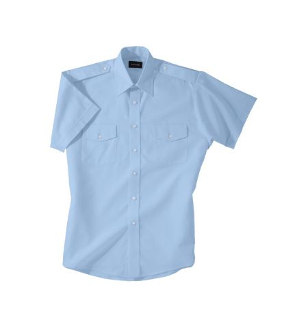MEN'S POLY/COTTON SHORT SLEEVE NAVIGATOR SHIRT