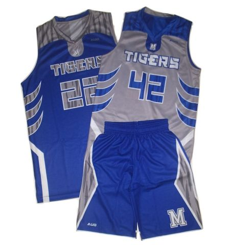 MAXXIM SPORTS CUSTOM DYE SUBLIMATED REVERSIBLE JERSEY WITH SINGLE SIDED SHORT BASKETBALL UNIFORM - MAX-DS-BB600