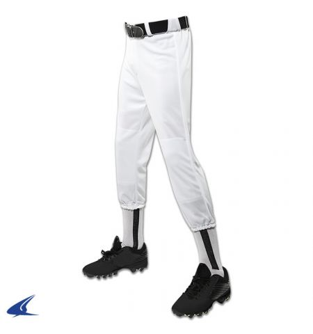 CHAMPRO YOUTH PERFORMANCE PULL UP BASEBALL PANTS WITH BELT LOOPS - BP1Y