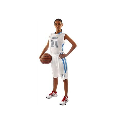 CHAMPRO LADIES MUSCLE DRI-GEAR BASKETBALL UNIFORM - BBJ9L/BBS9-SET