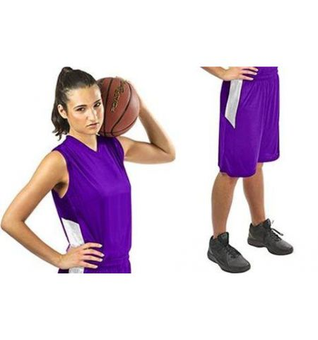 CHAMPRO LADIES BLOCK BASKETBALL UNIFORM - BBJ13 / BBS13