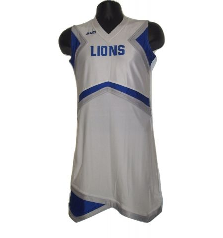 MAXXIM SPORTS CUSTOM DYE SUBLIMATED ONE PIECE CHEER DRESS - DS-CU400SLV