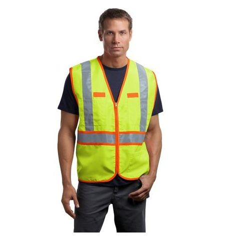CornerStone - ANSI Class 2 Dual-Color Safety Vest. CSV407