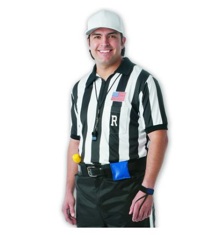 DALCO SHORT SLEEVE COLLEGIATE FOOTBALL REFEREE SHIRT - D740P