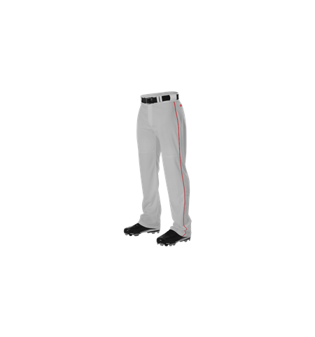 ALLESON PRO WARP-KNIT OPEN BOTTOM BASEBALL PANTS WITH SIDE BRAID- PWRPBP