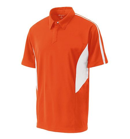 HOLLOWAY SHARK BITE DRY-EXCEL SNAG RESISTENT SNAP FRONT PERFORMANCE POLO SHIRT - 222408
