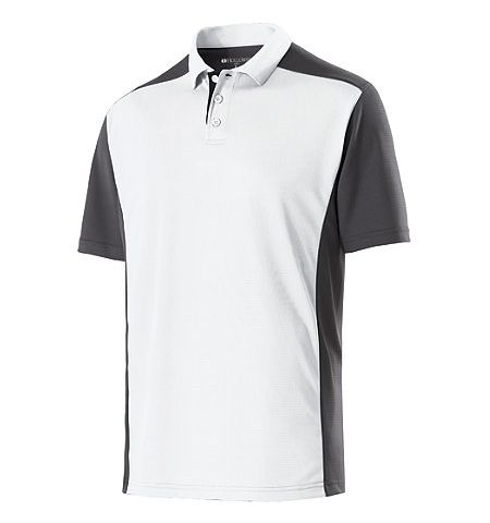 HOLLOWAY DIVISION DRY-EXCEL TRI COLOR PERFORMANCE POLO SHIRT - 222486