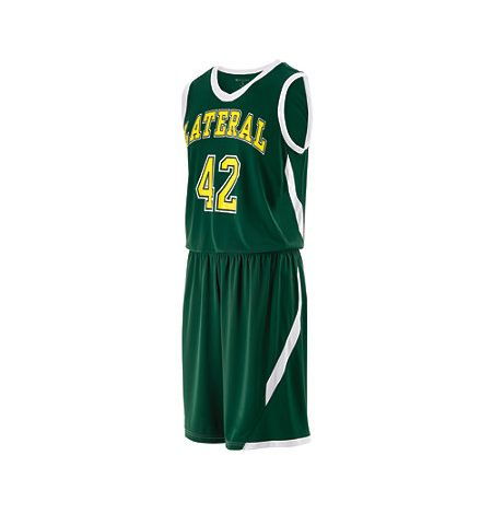 HOLLOWAY LATERAL DRI-EXCEL BASKETBALL UNIFORMS - 224066