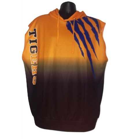 MAXXIM SPORTS CUSTOM DYE SUBLIMATED SLEEVELESS HOODED SHIRT - DSSWLH100SL