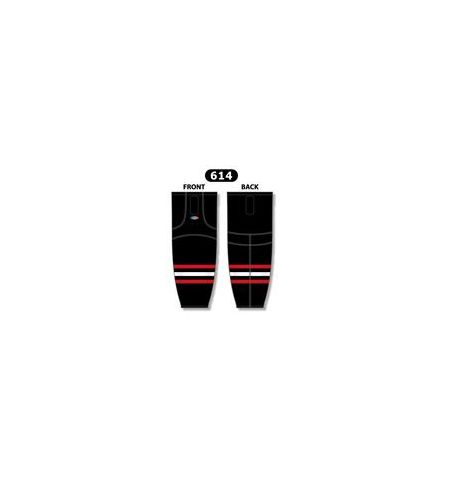 ATHLETIC KNIT 100% PERFORMANCE POLYESTER PRO STYLE HOCKEY SOCKS - HS2100