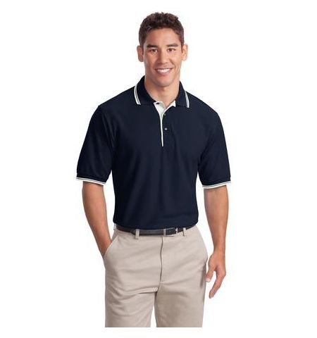 PA SILK TOUCH POLO SHIRT WITH ACCENT TRIM - K501