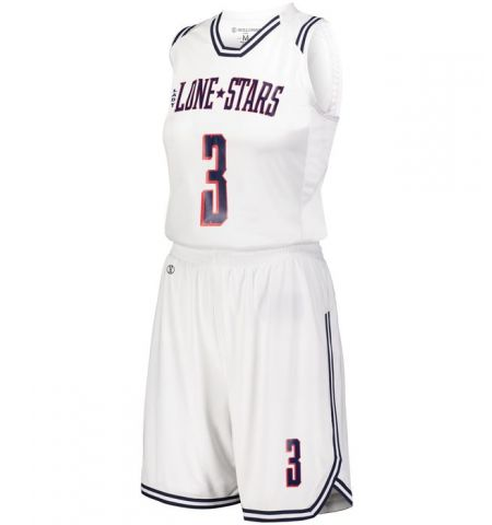HOLLOWAY RETRO LADIES BASKETBALL UNIFORM - 224376 / 22437