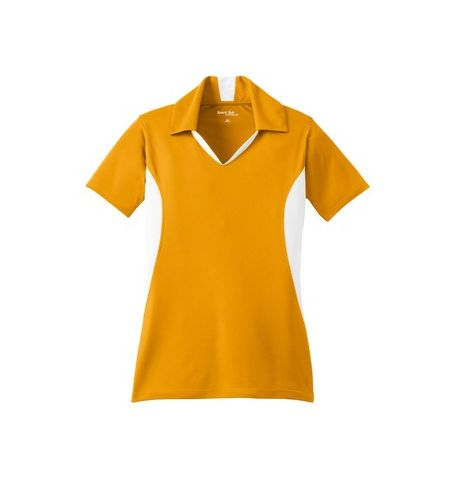 SPORT-TEK - LADIES SIDE BLOCKED MICROPIQUE SPORT-WICK POLO - LST655