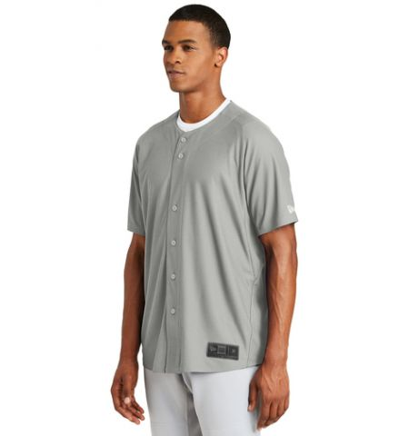NEW ERA DIAMOND ERA FULL BUTTON BASEBALL JERSEY - NEA220 / YNEA220