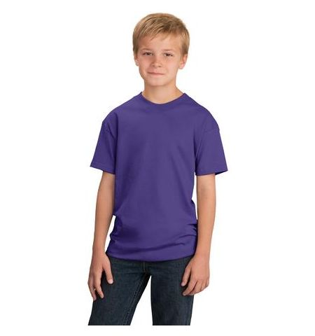 YOUTH T-SHIRT - 5.4 OZ 100% COTTON ADULT T-SHIRTS - PC54Y