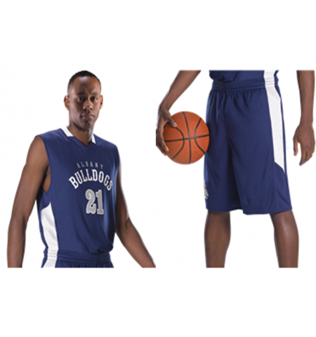 ALLESON SINGLE PLY REVERSIBLE BASEKTBALL UNIFORM - 589RSP