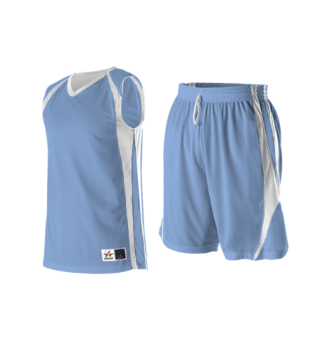 ALLESON EXTREME MESH COLOR BLOCK REVERSIBLE BASKETBALL UNIFORMS - 54MM