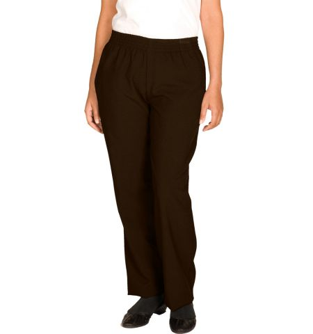 LADIES POLYESTER PULL ON PANTS
