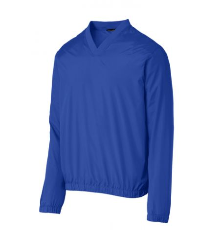 PORT AUTHORITY®  ZEPHYR V-NECK PULL OVER WIND SHIRT - J342