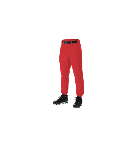 ALLESON 12 OZ CLASSIC BASEBALL PANTS WITH ELASTIC CUFF - 605P
