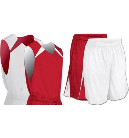 CHAMPRO SLAM DUNK DRI-GEAR REVERSIBLE BASKETBALL UNIFORM - BBJ4 / BBS4