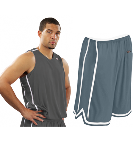 SHIRT & SKINS REVERSIBLE LEAGUE BASKETBALL UNIFORM - RJO11/RS011