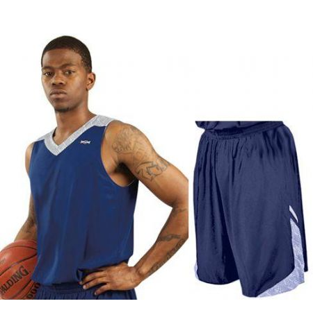 SHIRT & SKINS REVERSIBLE PHENOM BASKETBALL UNIFORM - RJ017 / SJ017