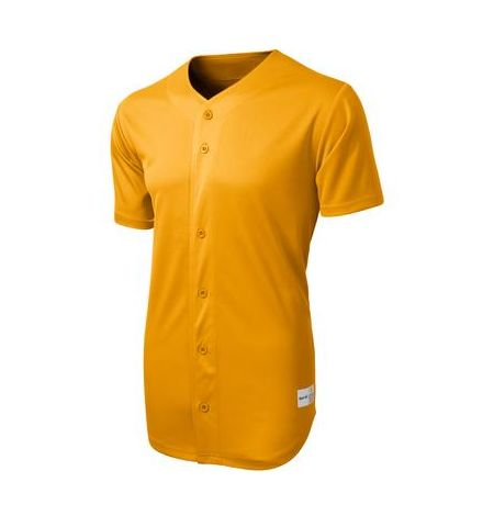SPORT-TEK 5.3 OZ TOUGH MESH FULL BUTTON BASEBALL JERSEY-ST220