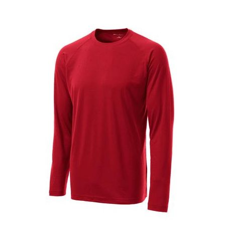 SPORT-TEK LONG SLEEVE RAGLAN CUT ULTIMATE PERFORMANCE CREW SHIRT - ST700LS