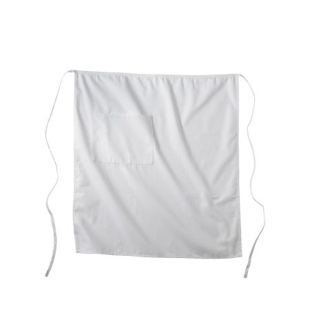 "7 OZ COTTON/POLY BISTRO APRON 33""L X 28"" W"