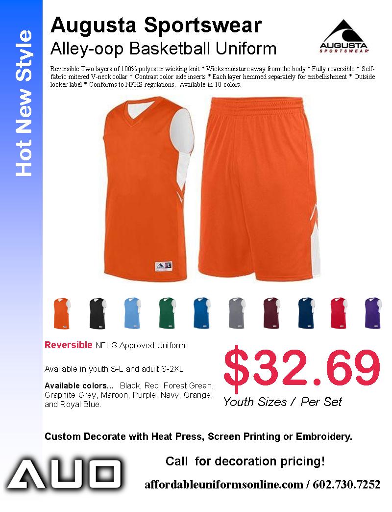 Augusta Basketball Uniforms