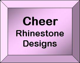 Rhinestone Designs - Cheer