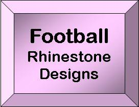 Rhineston Design Templates - Football