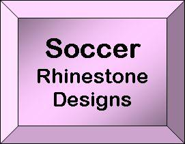 Rhinestone Designs - Soccer
