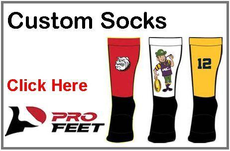Pro Feet Custom Sublimated Socks