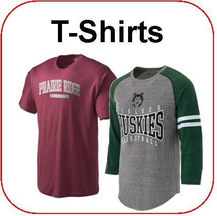 Affordable Uniforms Online-Spirit Wear T-Shirts