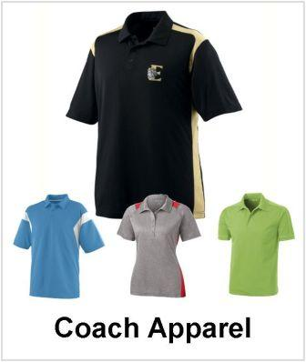 Custom Decorated Coachs Apparel