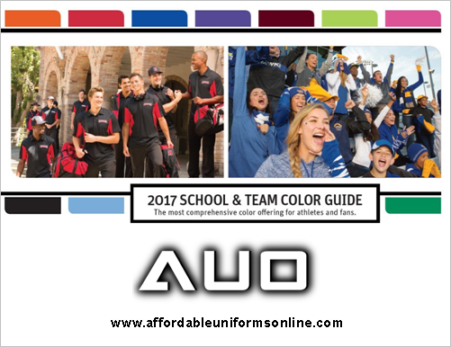 AUO TEAM COLOR GUIDE II