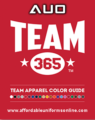AUO TEAM 365 COLOR CATALOG