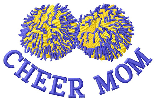 CHEER MOM EMBROIDERY