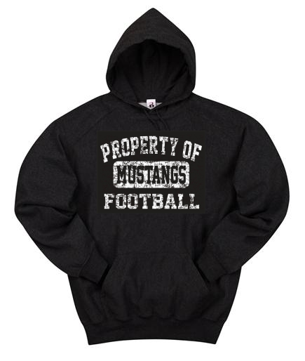 Affordable Uniforms-Mustang Hoodie