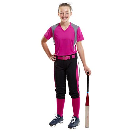 Affordable Uniforms Online-Girls Softball Jersey