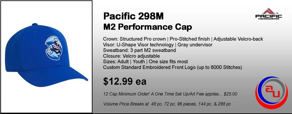 Pacifid Headwear 298M Performance Cap by Affordable Uniforms Online