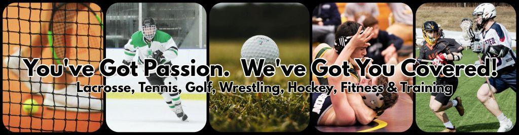 LACROSSE, GOLF, TENNIS, FITNESS UNIFORMS