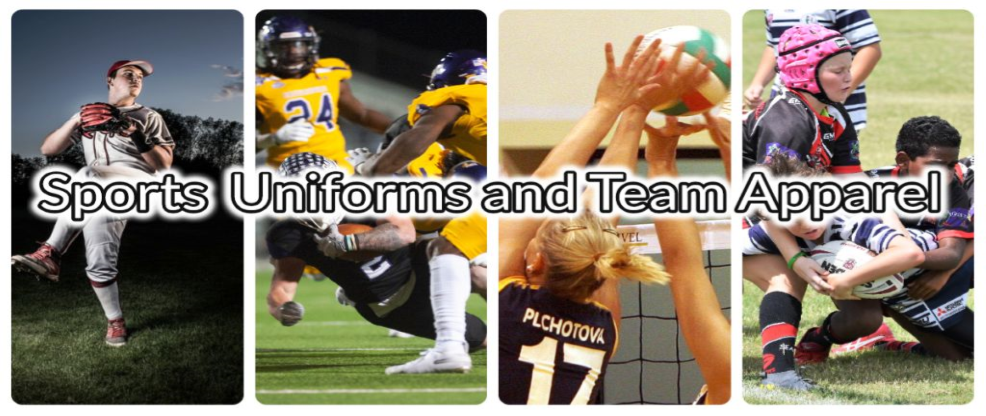 SPORTS UNIFORMS AND ATHLETIC TEAM APPAREL