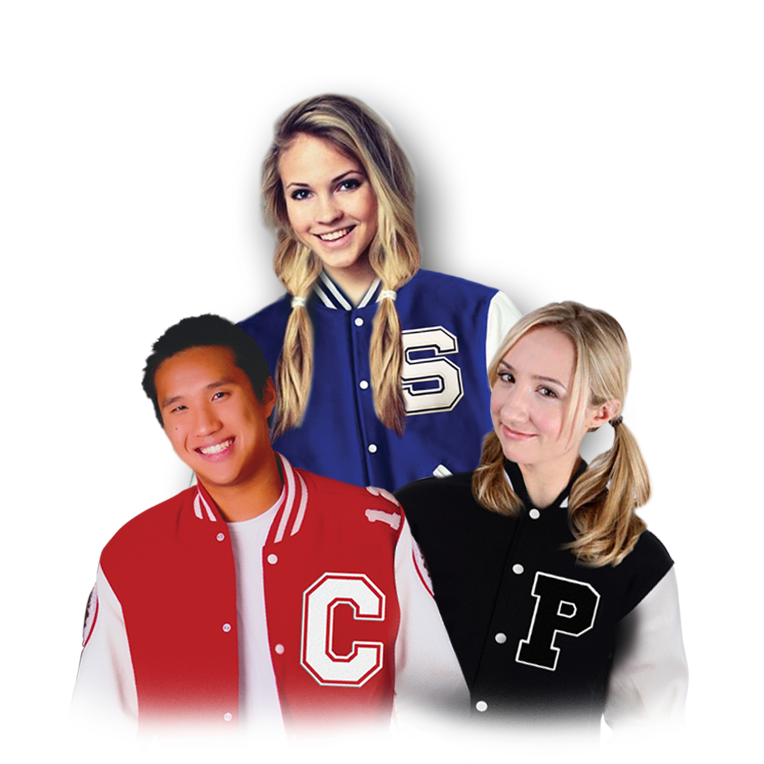 Affordable Uniforms Online - Letterman Jackets