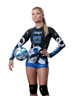 AUO-Sublimated Volleyball Uniform