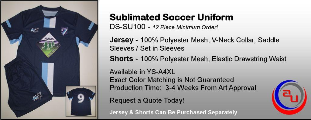 SUBLIMATED SOCCER UNIFORMS, AFFORDABLE UNIFORMS ONLINE