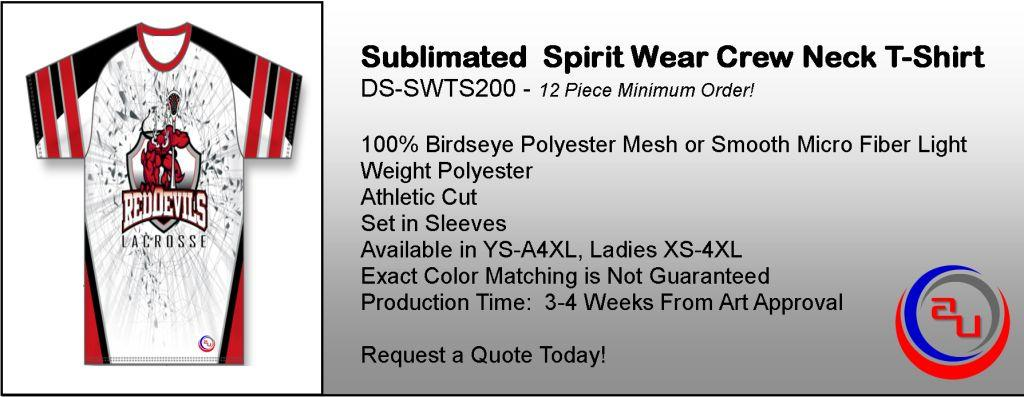 SUBLIMATED SCHOOL SPIRITWEAR & APPAREL, AFFORDABLE UNIFORMS ONLINE